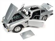 ミニカー1/18007ノータイムトゥダイアストンマーチンDB5AUTOWORLD007ジェームズボンドボンドカー【予約商品】