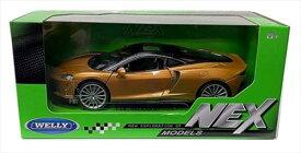 ミニカー 1/24 WELLY☆マクラーレン GT 金色  特別限定モデル!McLaren GT Gold【予約商品】