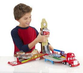 ディズニーカーズ3 ミニカー/ 巨大!楽しい!ジオラマコースに変形♪ マックトラック・プレイセット♪ カーズ おもちゃ