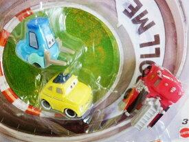 ◎ディズニーカーズミニカー/ マイクロドリフト カーズ 3台セット♪(ルイジ、グイド、消防車のレッド)【予約商品】