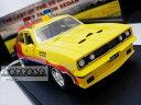 ミニカー 1/43☆マッドマックス 1974 フォード・ファルコンV8 インターセプター 黄色 MFP 4ドアセダン 「イン…