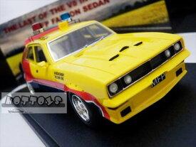 ミニカー 1/43☆マッドマックス 1974 フォード・ファルコンV8 インターセプター 黄色 MFP 4ドアセダン 「インターセプター」フォード XB ファルコン【限定品 予約商品】