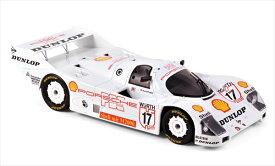 ミニカー 1/18 Norevノレブ ポルシェ 962 #17 C Winner Supercup Nurburgring 1987 H.-J Stuck  予約商品