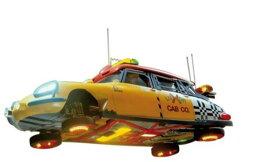 ミニカー 1/43 NOREV★フライング キャブ シトロエンDS バックトゥザフューチャー 飛行モード!【予約商品】