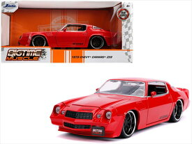ミニカー 1/24 JadaTOYS☆1979 シボレー・カマロ Z28 赤 Chevrolet Camaro Z28 【予約商品】