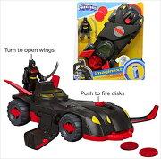バットモービルから飛行モードへトランスフォームする♪バットマン/バットモービルニンジャアーマーバットモービル