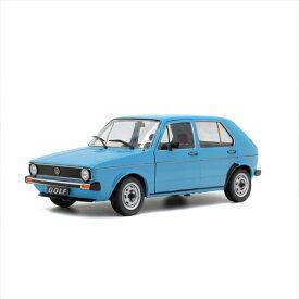 1/18 Solido☆1983 フォルクスワーゲン・ゴルフ 水色1983 Volkswagen Golf L【予約商品】