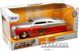 ミニカー 1/24 JadaTOYS☆1951 マーキュリー#626 Holley - Bomber Bros Special【予約商品】