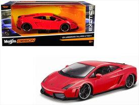 ミニカー 1/24 MOTORMAX☆ランボルギーニ ガヤルド LP 560-4 赤色 ワイルドスピード ライカン 特別限定モデル!【予約商品】