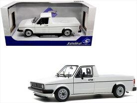 ミニカー 1/24■Solido■1982 VW フォルクスワーゲン Caddy MK1 ピックアップトラック 白色 ゴルフ GTI 【予約商品】