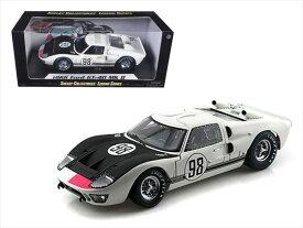 ミニカー 1/18 SHELBY COLLECTIBLES☆1966 フォード GT40 MK2 #98 白色 フォードvs フェラーリ特別限定モデル!