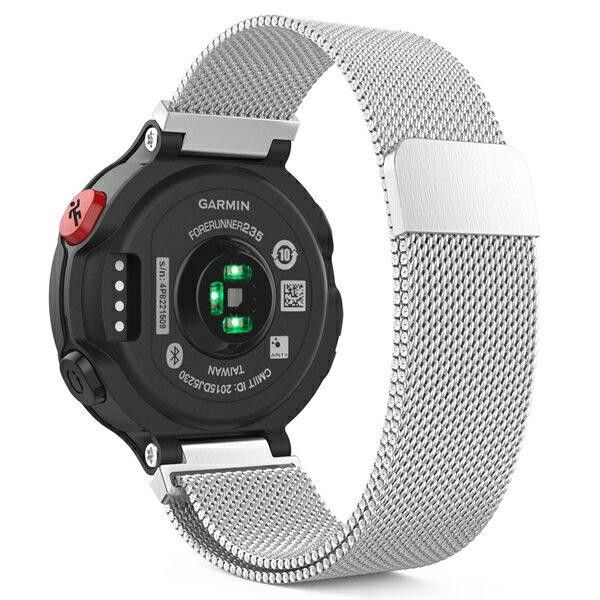 Garmin ForeAthlete 235J専用ソフト シリコーン製腕時計ストラップ/バンド 交換ベルト (Garmin ForeAthlete 220/230/235/620/630/735に対応)
