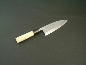 堺味正作 本霞白鋼 出刃包丁 150mm