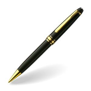 MONTBLANC(モンブラン) マイスターシュテュック クラシック164 ボールペン 10883 名入れ・送料無料セット