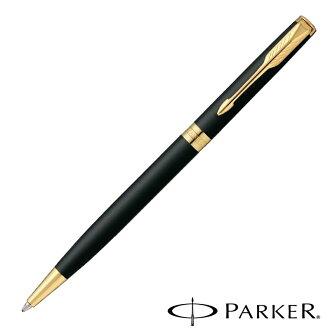 把PARKER(Parker)十四行詩原始物墊子黑色GT纖細原子筆S11130342S名放進去,設置