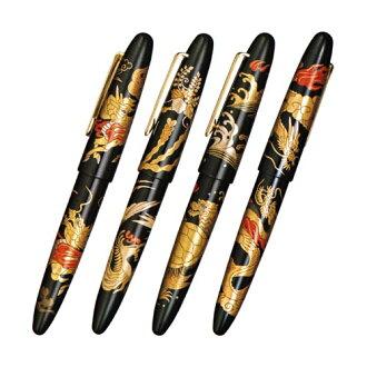 SAILOR(水手)大王利润硬橡胶泥金画钢笔