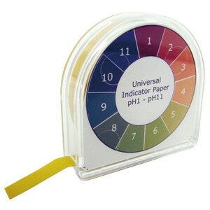 巻取pH試験紙 ユニバーサル pH1〜11