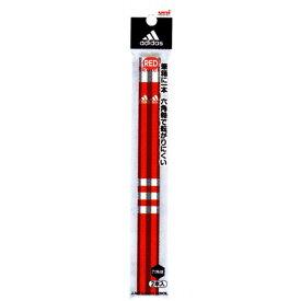 三菱鉛筆 アディダス 赤鉛筆 2本組 K881AI2P あかえんぴつ 文房具 adidas