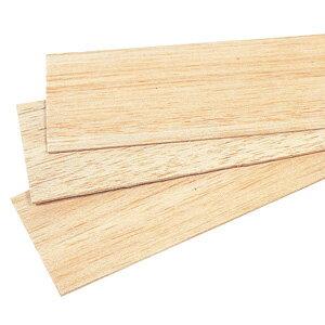 バルサ板 2(厚)mm 1組(10枚)