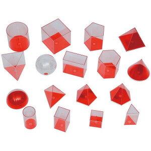 透明立体模型 17種 オレンジ(大)) 86167200