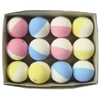 Kyozai Club T And Y Soft Tennis Balls 2 Color White X Peach White