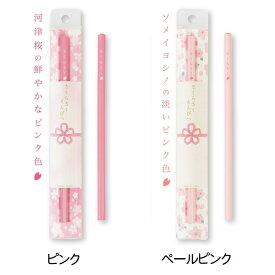 【サンスター】さくらさくえんぴつ 合格祈願シリーズ 鉛筆 桜咲く HB