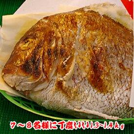 焼鯛7〜8名さま位の大きさ<焼き鯛12月下旬発送分>【長寿のお祝い・お食い初め祝膳に焼き鯛】