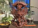 一刀彫 霊鳥 ガルーダ & WISNU神 / バリ雑貨 アジアン雑貨 アジアンインテリア