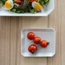 1616/arita japan TY スクエアプレート130/白 ホワイト【1616/arita japan 有田焼 アリタジャパン 和食器 角皿 plate...