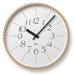 RIKICLOCKリキクロック/LサイズナチュラルWR-0312L【タカタレムノス渡辺力デザイナー時計壁掛けギフト新築祝い引っ越し祝い送料無料】
