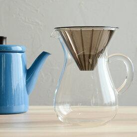 KINTO コーヒーカラフェセット600mlプラスチック 27644【コーヒー キントー COFEE カフェ ドリッパー サーバー 食器 コーヒー器具】