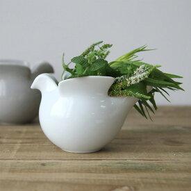 リサラーソン×波佐見焼 duva ドゥーバ 鳩のポット ミルクピッチャー 花器 花瓶 キャンドルホルダー