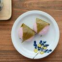 九谷青窯 米満麻子 レモンの木/5寸平皿【よねみつあさこ 九谷焼 作家 くたにせいよう】