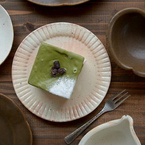 古谷浩一/古谷製陶所 ラッフルプレート(S)【信楽焼 和食器 うつわ 作家 陶器 皿】