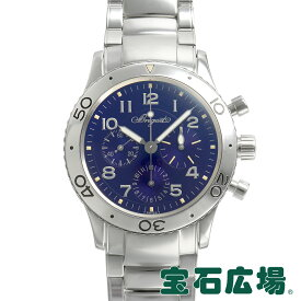 ブレゲ BREGUET アエロナバル 日本1000本限定 3807ST/J2/SW9【中古】メンズ 腕時計 送料・代引手数料無料