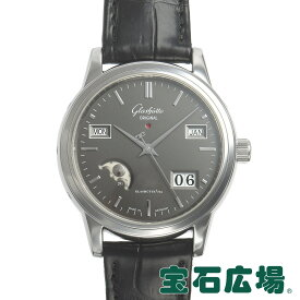 グラスヒュッテ オリジナル GLASHUTTE ORIGINAL セネタ パーペチュアルカレンダー 39-50-14-22-04【中古】メンズ 腕時計 送料無料