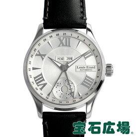 ルイ・エラール LOUIS ERARD 1931 ムーンフェイズ トリプルカレンダー 37213AA21【中古】メンズ 腕時計 送料無料