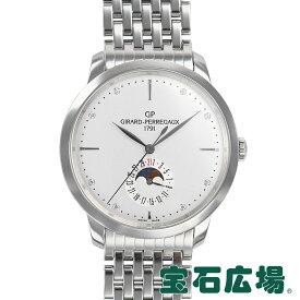 ジラール ペルゴ GIRARD PERREGAUX 1966ムーンフェイズ 49545-11-1A1-11A【中古】メンズ 腕時計 送料無料