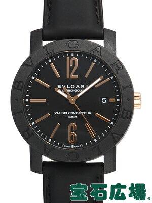 ブルガリ ブルガリブルガリカーボンゴールド BBP40BCGLD【新品】【メンズ】【腕時計】【送料・代引手数料無料】