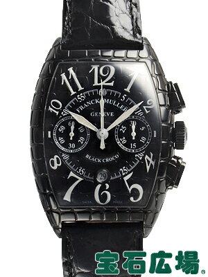 フランク・ミュラー トノウカーベックス クロノ ブラッククロコ 8880CCAT BLK CRO【中古】 メンズ 腕時計 送料・代引手数料無料