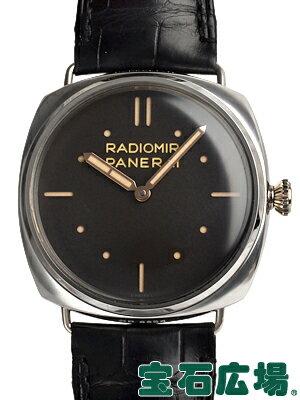 パネライ ラジオミール 3デイズ プラティーノ 47mm 世界限定300本 PAM00373【中古】 メンズ 腕時計 送料・代引手数料無料