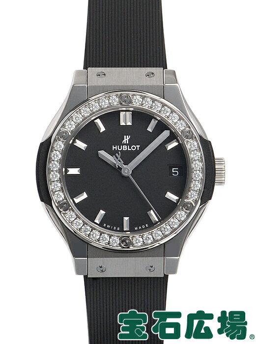 ウブロ クラシックフュージョン チタニウム ダイヤモンド 581.NX.1171.RX.1104【新品】 レディース 腕時計 送料・代引手数料無料