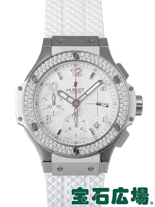 ウブロ ビッグバン スチール ホワイトダイヤモンド 342.SE.230.RW.114【新品】【メンズ】【腕時計】【送料・代引手数料無料】