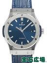 ウブロ クラシックフュージョン チタニウム ブルー 542.NX.7170.LR【新品】 メンズ 腕時計 送料・代引手数料無料