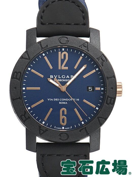 ブルガリ ブルガリブルガリ カーボンゴールド BBP40C3CGLD【新品】 メンズ 腕時計 送料・代引手数料無料