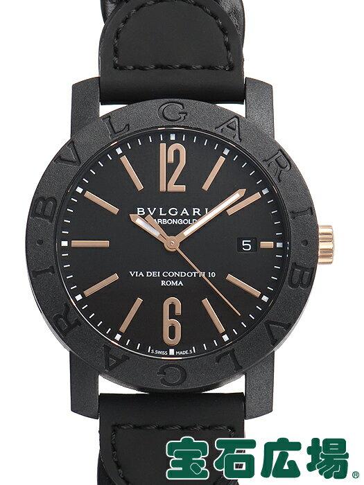 ブルガリ ブルガリブルガリ カーボンゴールド BBP40BCGLD/N【新品】 メンズ 腕時計 送料・代引手数料無料