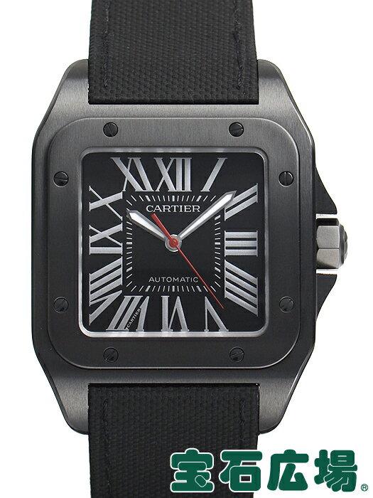 カルティエ サントス100 カーボンウォッチ LM WSSA0006【新品】 メンズ 腕時計 送料・代引手数料無料