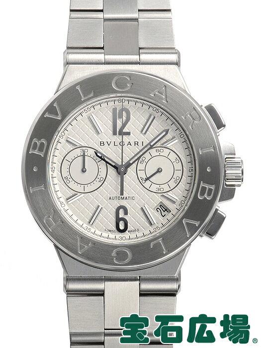 ブルガリ ディアゴノ クロノグラフ DG40C6SSDCH【中古】【メンズ】【腕時計】【送料・代引手数料無料】