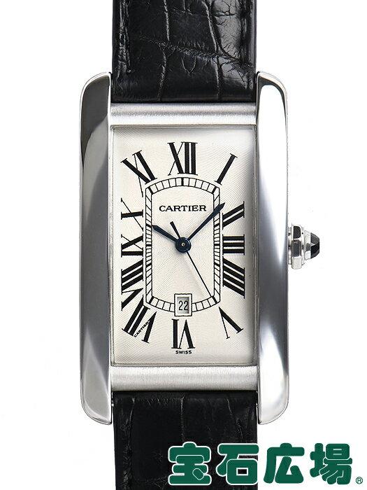 カルティエ タンクアメリカン LM W2603256【中古】 メンズ 腕時計 送料・代引手数料無料