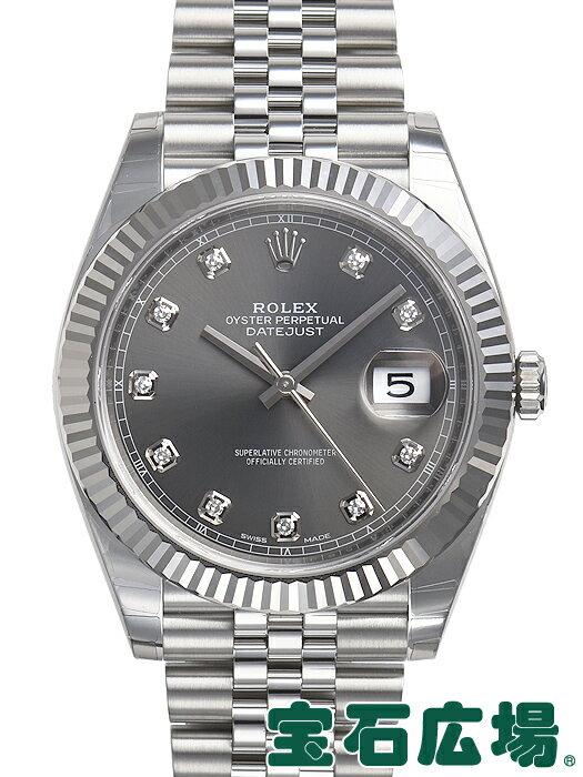 ロレックス デイトジャスト41 126334G【新品】【メンズ】【腕時計】【送料・代引手数料無料】